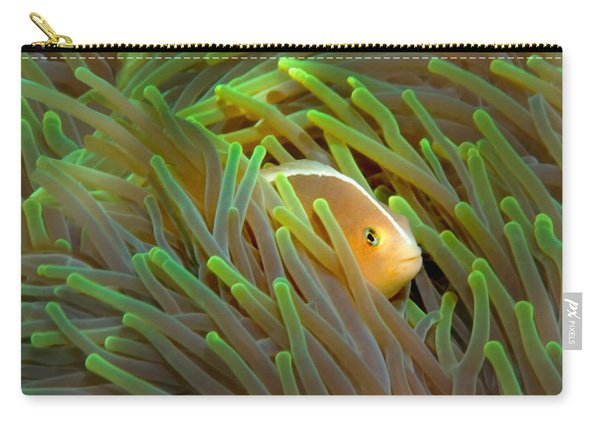 Close-up Of A Skunk Anemone Fish Carry-all Pouch
