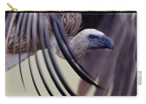 Close-up Of A White-backed Vulture Carry-all Pouch