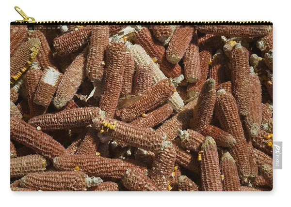 Close-up Of Corn Cobs, Baisha, Lijiang Carry-all Pouch