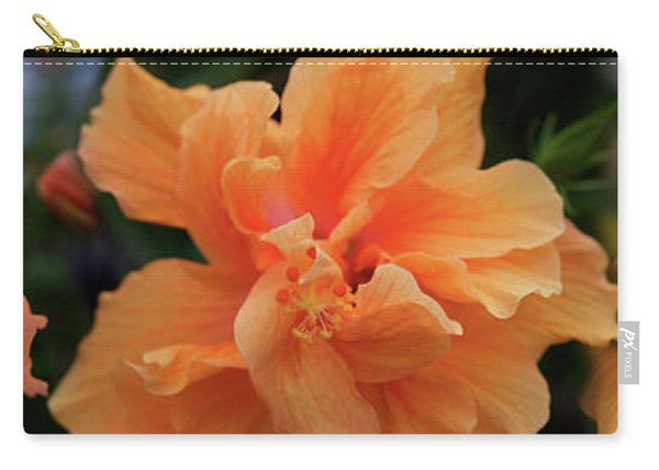 Close-up Of Hibiscus Flowers Carry-all Pouch
