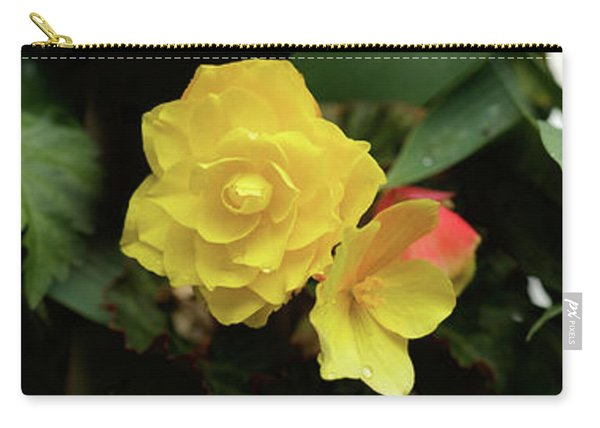 Close-up Of Hibiscus, Rose Carry-all Pouch