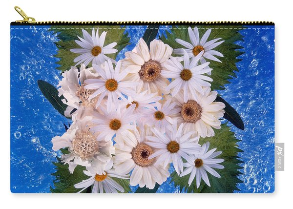Close Up Of White Daisy Bouquet Carry-all Pouch