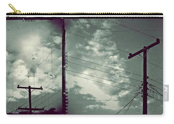 Clouds And Power Lines Carry-all Pouch