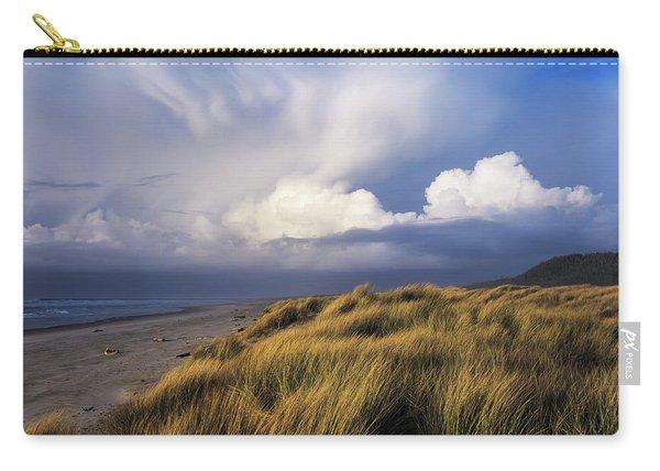 Clouds Move Inland Over Umpqua Beach Carry-all Pouch