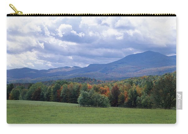 Clouds Over A Grassland, Mt Mansfield Carry-all Pouch