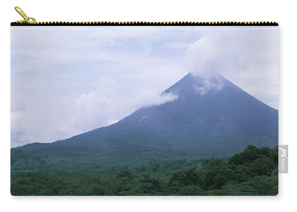 Clouds Over A Mountain Peak, Arenal Carry-all Pouch