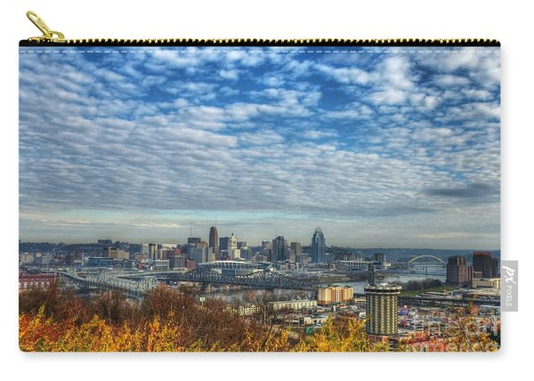 Clouds Over Cincinnati Carry-all Pouch