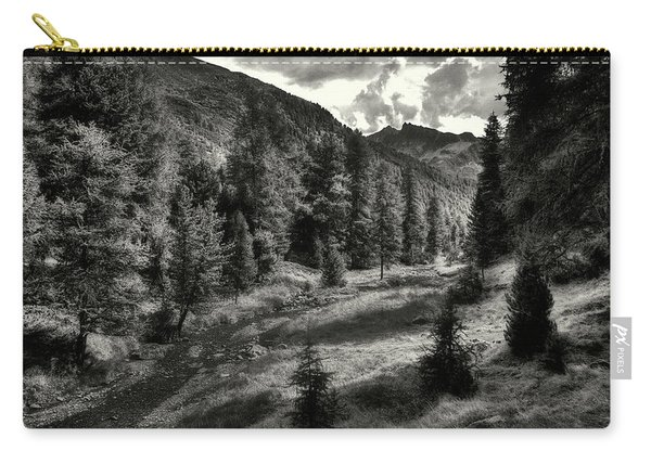 Clouds Over The Mountainscape Carry-all Pouch