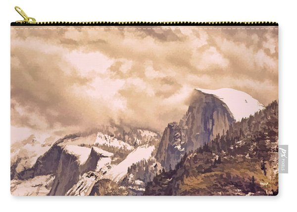 Clouds Over The Valley Carry-all Pouch