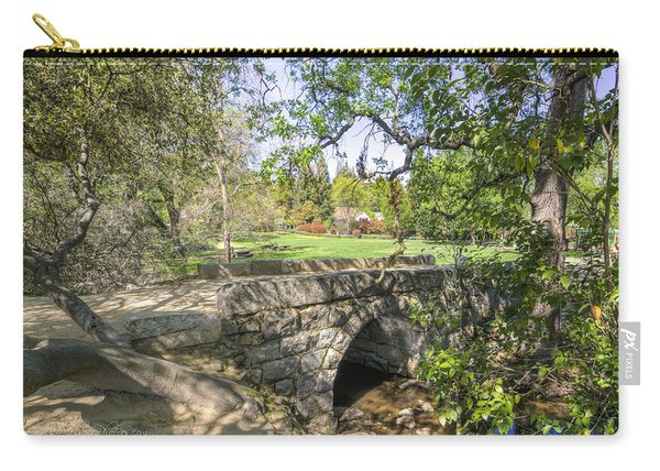 Clover Valley Park Bridge Carry-all Pouch