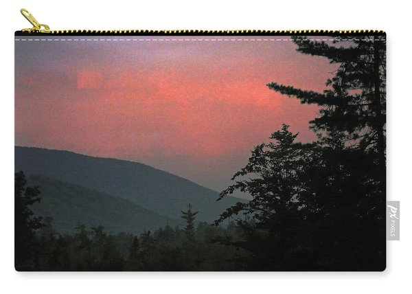Clucks West Ossipee Mountain Sundown Carry-all Pouch