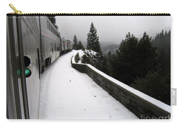 Coast Starlight In The Mountains Carry-all Pouch