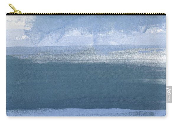 Coastal- Abstract Landscape Painting Carry-all Pouch