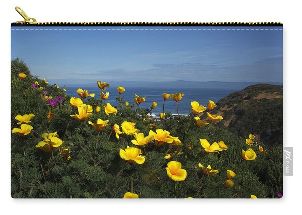 Coastal California Poppies Carry-all Pouch