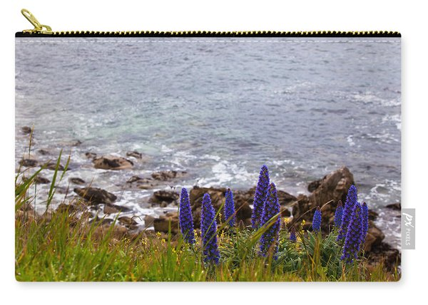 Coastal Cliff Flowers Carry-all Pouch