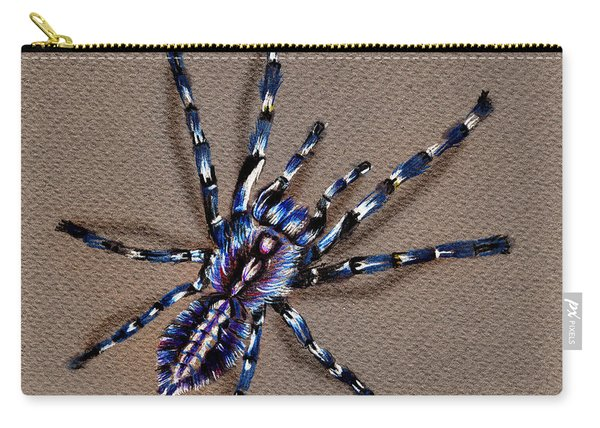 Cobalt Blue Tarantula Carry-all Pouch