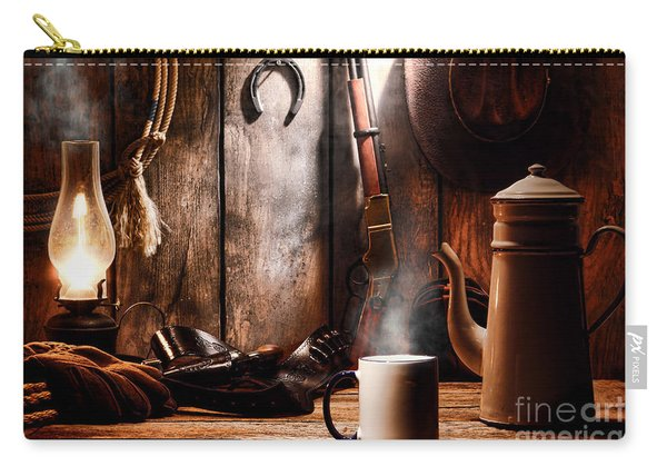 Coffee At The Cabin Carry-all Pouch