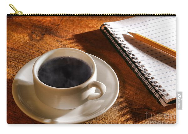Coffee For The Writer Carry-all Pouch