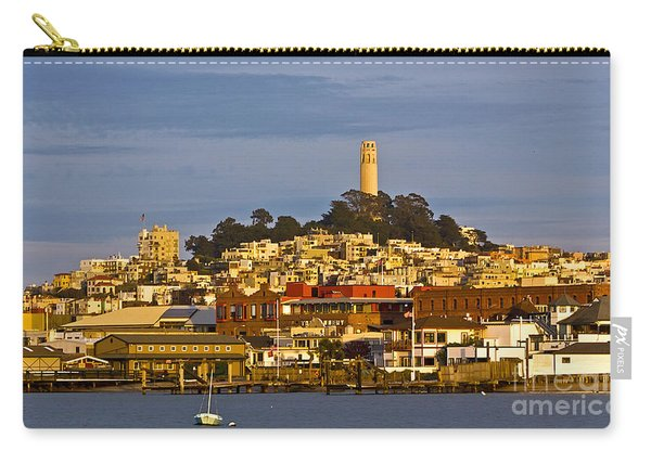 Coit Tower Golden Hour Carry-all Pouch