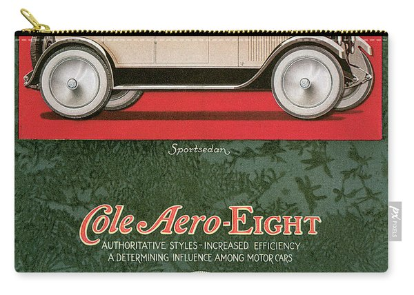 Cole Aero Eight Vintage Poster Carry-all Pouch