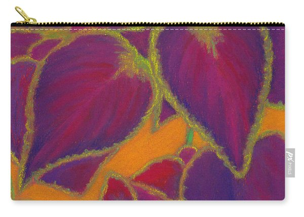 Coleus Gone Wild Carry-all Pouch