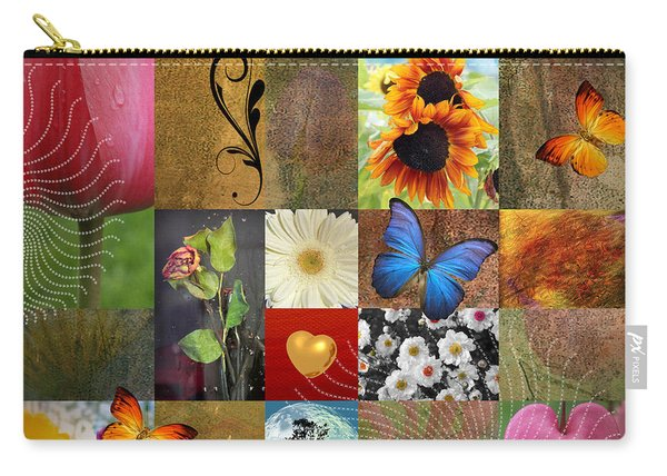 Collage Of Happiness 2 Carry-all Pouch