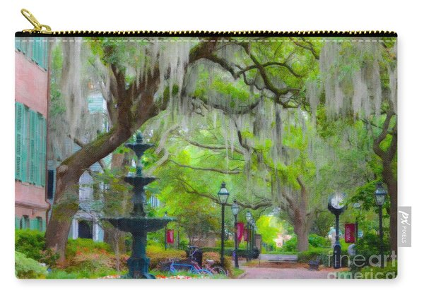 College Of Charleston Carry-all Pouch