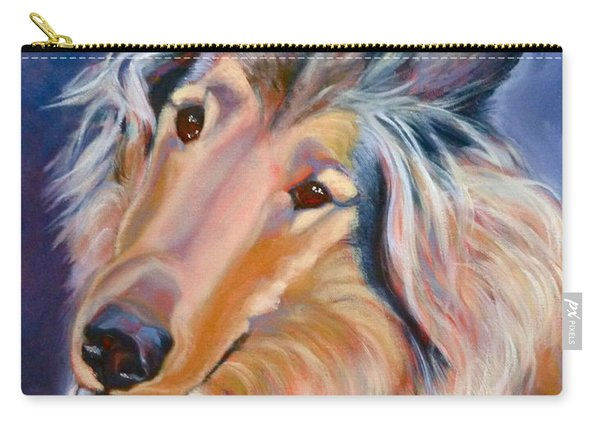 Collie Star Carry-all Pouch