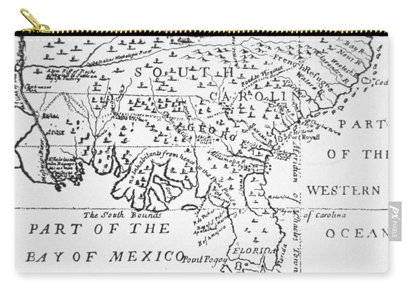 Colony Of Georgia America Carry-all Pouch