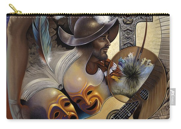 Color Y Cultura Carry-all Pouch
