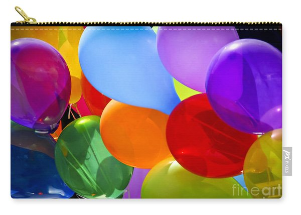 Colorful Balloons Carry-all Pouch