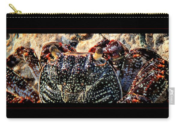 Colorful Crab Carry-all Pouch