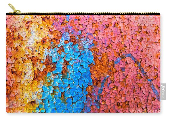 Colorful Cracks Carry-all Pouch
