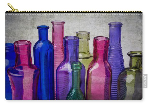 Colorful Group Of Bottles Carry-all Pouch