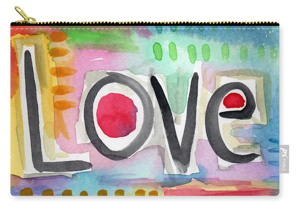 Colorful Love- Painting Carry-all Pouch