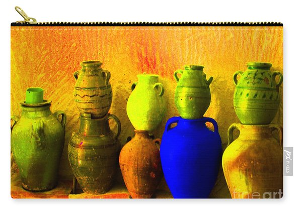 Colorful Pottery Carry-all Pouch
