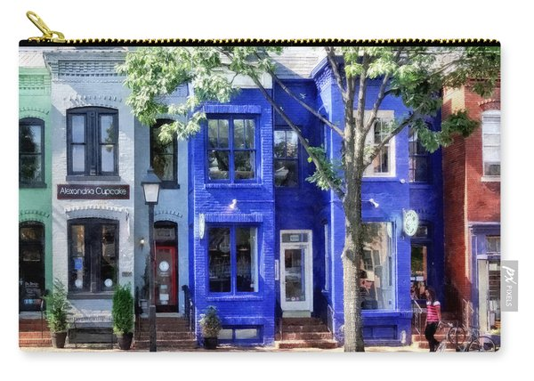 Alexandria Va - Colorful Street Carry-all Pouch
