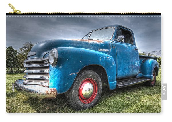 Colorful Workhorse - 1953 Chevy Truck Carry-all Pouch