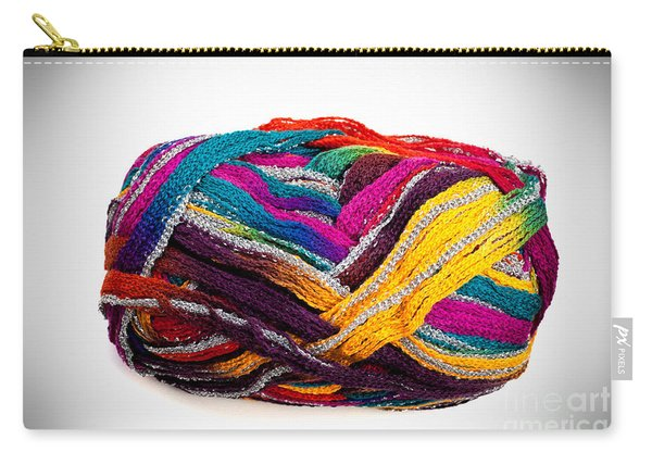 Colorful Yarn Carry-all Pouch
