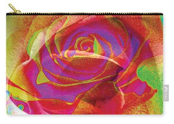 Colorfull Rose Carry-all Pouch