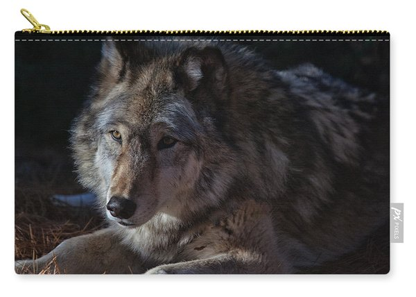 Colors Of A Wolf Carry-all Pouch