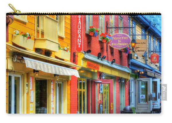 Colors Of Quebec 20 Carry-all Pouch