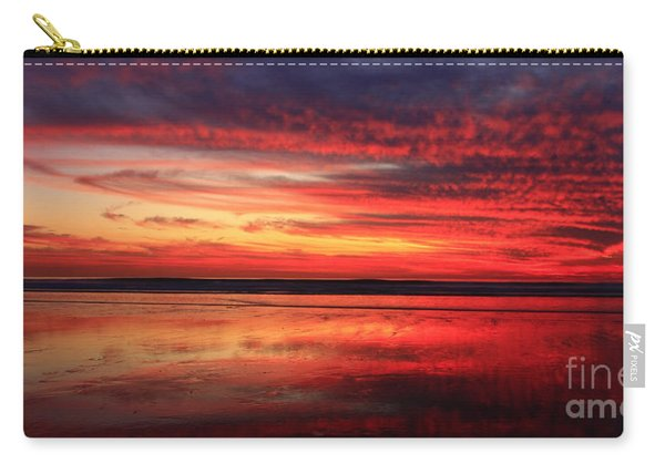 Encinitas Twilight Tide Carry-all Pouch
