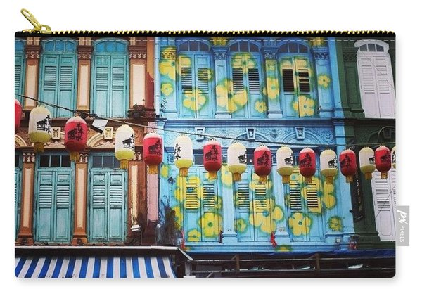Colourful Singapore Carry-all Pouch