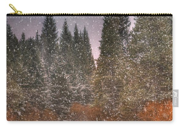 Colours Of Winter Carry-all Pouch