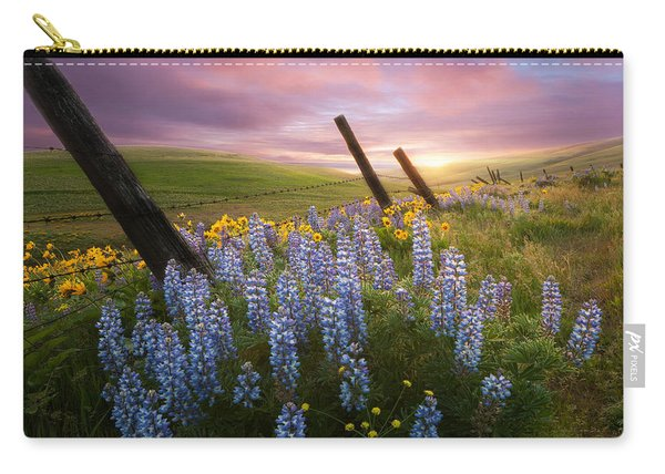 Columbia Hills Sunset Carry-all Pouch