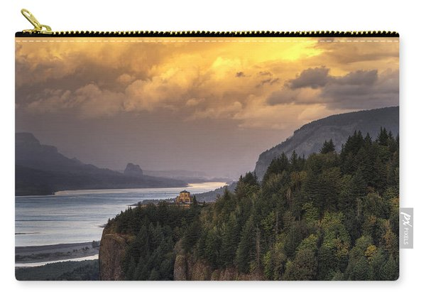 Columbia River Gorge Vista Carry-all Pouch