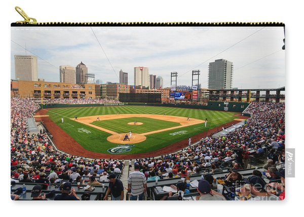 D24w-295 Columbus Clippers Photo Carry-all Pouch