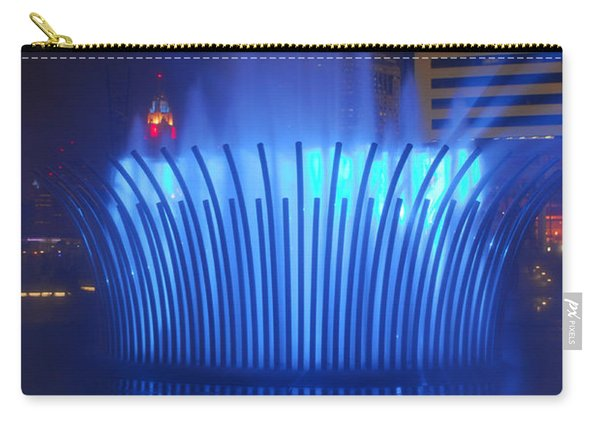 D101l-122 Scioto Mile Fountain Photo Carry-all Pouch