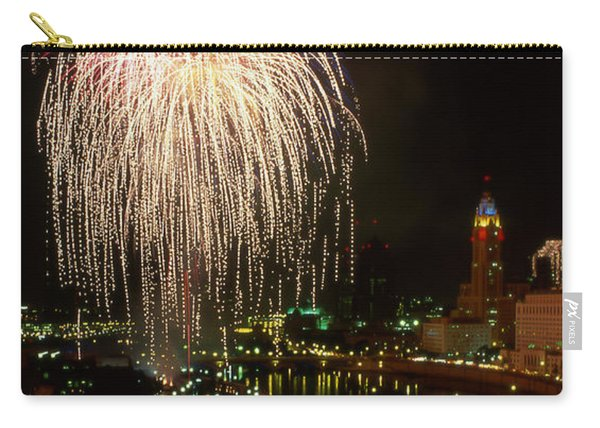 Columbus Red White And Boom Carry-all Pouch